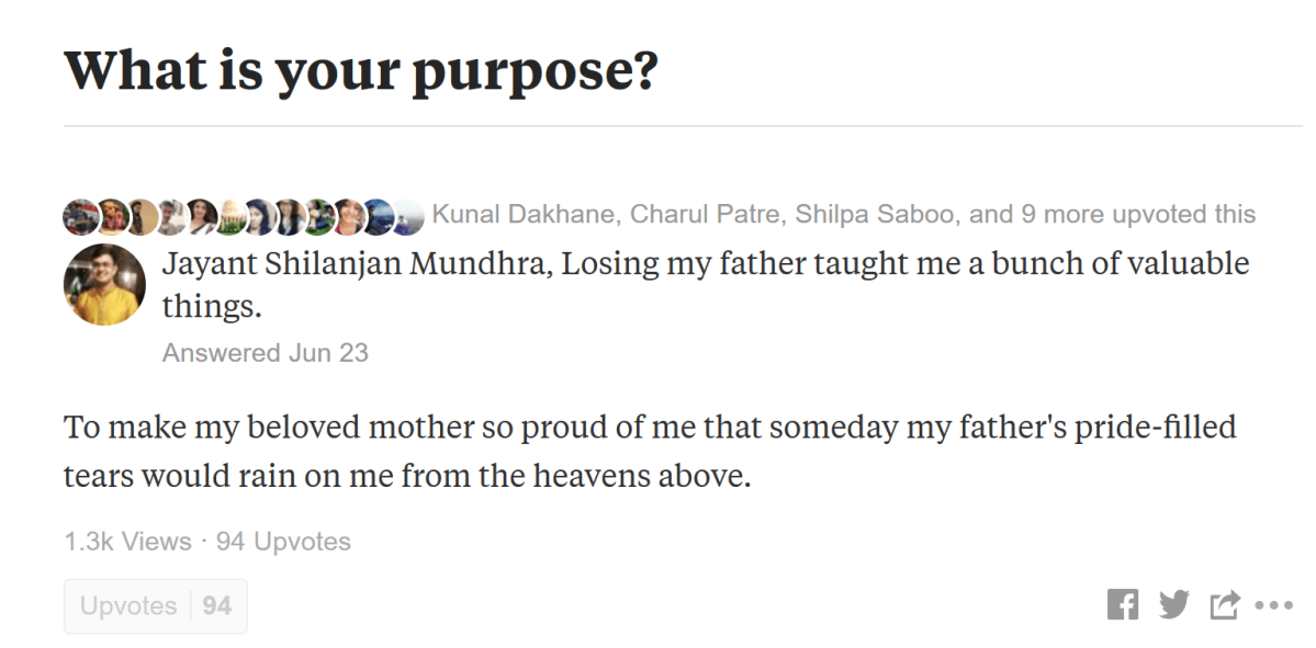 Mini #14: My Favourite Answer I Ever Wrote On Quora!